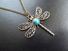 Turquoise Bronze Costume Necklaces & Pendants