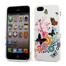Fundas y carcasas color principal multicolor de silicona/goma para teléfonos móviles y PDAs Apple