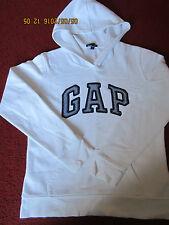 GAP - WHITE HOODIE - SIZE XS / UK 6
