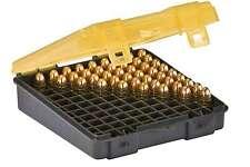 Ammo Box 100 Round 9mm Bullet Case Plastic Storage Organizer Gun Range Bag