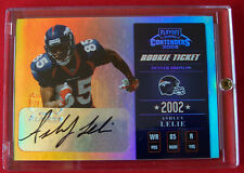 2002 PLAYOFF CONTENDERS ROOKIE TICKET  ASHLEY LELIE AUTO SERIAL #/360  FREE SHIP