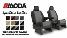 Coverking Synthetic Leather Front Seat Covers for Ford F550 in Leatherette