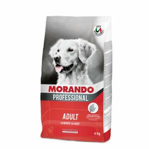 MORANDO MIGLIOR CANE PROFESSIONAL 4 KG CROCCANTINI CANE MANZO VERDURE PUPPY