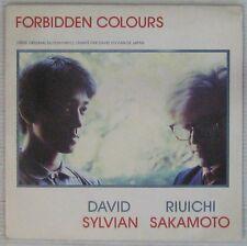 Forbidden Colors 45 tours Sylvian Sakamoto 1983