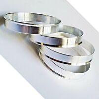 Metal 57.1 - 54.1 SET OF 4 SPIGOT RINGS For Alloy Wheel Hub Centric Wheel Spacer