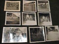 Privat 8x Soldaten Ausbildung Celle 2.WK-Kaserne u.a.1940.Jahre-Ancient soldiers