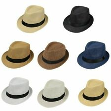 Baby Kids Boy Girl Hat Cap Breathable Hat Summer Beach Straw Sun Hat OiRrE