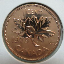 1979 CANADA 1 CENT PROOF-LIKE PENNY
