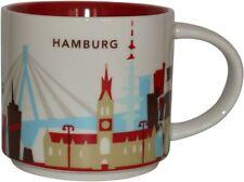 Starbucks City You Are Here 14 Oz/414ml YAH Hamburg Germany Tasse Mug SKU OVP
