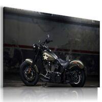 HARLEY DAVIDSON MOTOR BIKE Wall Canvas Picture ART  HD78 MATAGA