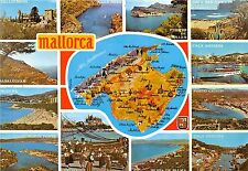 BG6048 mallorca map cartes geographiques spain