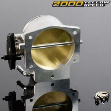 Throttle Body Fit For Gm Gen Iii Ls Ls1 Ls2 Ls3 Ls4 Ls6 Ls7 Sx Cnc Bolt Cable N