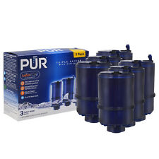 6 Pack PUR RF-9999 MineralClear Faucet 3-Stage Refill Genuine Water Filter USA