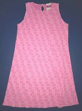 Fresh Produce 3X Flamingo Pink $79 Tidepool Geo Marissa Key Hole Dress Nwt New
