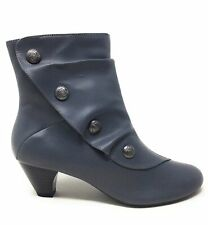 Soft Style Hush Puppies Womens Gilnora Ankle Boot Dark Grey Size 8 Wide