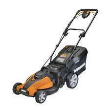 "WG750 WORX 40V Cordless 16"" Lawn Mower with Mulching Capabilities"