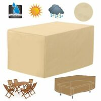 Waterproof Outdoor Patio Table Cover Garden Yard Furniture Rain Dust Protection