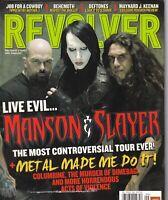 Revolver Magazine Marilyn Manson & Slayer September 2007 051419nonr