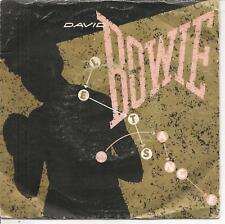 "45 TOURS / 7"" SINGLE--DAVID BOWIE--LET'S DANCE / CAT PEOPLE--1983"