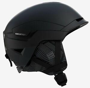Salomon Quest Access Womens Helmet Ski Snowboard Snow M 56-59cm Black NEW RP£130