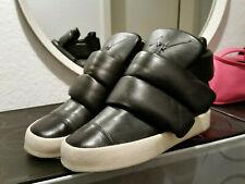 Giuseppe Zanotti Leather Kid Cudi Boots Black Leder Trainers Schuhe