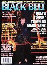 3/93 BLACK BELT TADASHI YAMASHITA KUK SOOL WON DEATH TOUCH KARATE MARTIAL ARTS