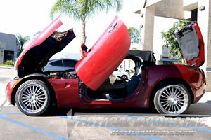 Pontiac Solstice 2006 2007 08 09 2010 Vertical Doors Inc. Bolt on Lambo Door Kit