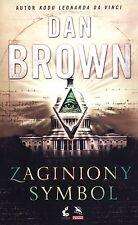 Zaginiony symbol, Dan Browni, polish book, polska ksiazka