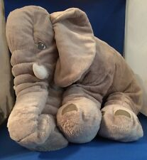 "Ikea JATTESTOR the Elephant 23.5"" Floppy Squishable Huggable tush tags only"