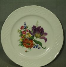"House of Goebel Bavaria W Germany 7 3/4"" white floral flowers plate"