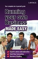 Running Your Own Business Made Easy,Roy Hedges- 9781907765872