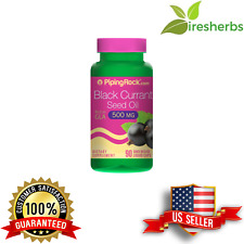 BLACK CURRANT SEED OIL 500MG JOINT PAIN CARDIO SUPPLEMENT 90 LIQUID CAPSULES