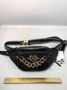 Love Moschino Waist Bag Heart Chain