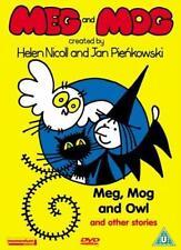 Meg and Mog: Meg, Mog and Owl [DVD] By Fay Ripley,Phil Cornwell.