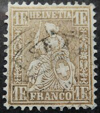 Switzerland Scott # 50, Used