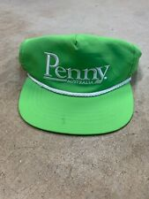 Penny Skateboards Australia Green Panel Strapback Hat