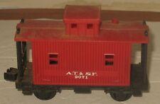 Vtg Lionel A.T. & S.F. 9071 Red Railroad O Train Caboose Untested