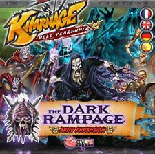 Kharnage The Dark Rampage Erweiterung Deutsch Fantasy Kartenspiel