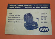KTM Motor Parts Catalog 1983 348,506,560 GS and other Engines