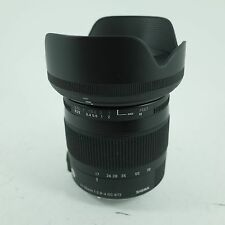 "Occasion sigma dc 17-70mm f2.8-4 ""c"" lentille dans pentax adapter"