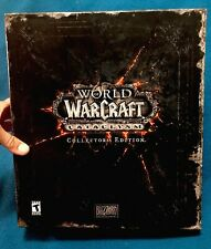 World of Warcraft: Cataclysm Collector's Edition-Wow! 1 Sealed DVD, 4 Keys, Used