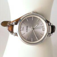 ES3060 Fossil Georgia Women's watch Silver 32 mm Adjustable Quartz (Battery)