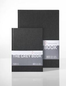 Hahnemuhle The Grey book A5 or A4 Light Grey sketchbook