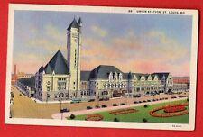 US MISSOURI - ST. LOUIS, UNION STATION  VINTAGE PC 350