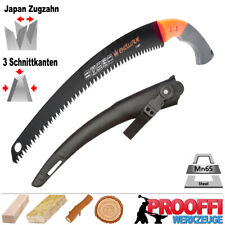 Profi Handsäge Ast Baumsäge Outdoor Garten Holz Säge Japan Zugzahn TEFLON C1911