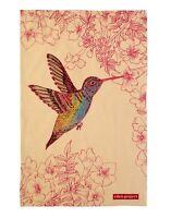 Hummingbird Tea Towel by Ulster Weavers - Pink
