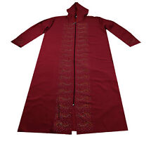 Ladies Maxi Dress Kaftan With Hood Women Muslim Holiday Abaya Islamic Top