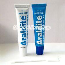 6 set x Araldite Belgium ( 90 minutes Rapid ) AB Epoxy Adhesive Applicator Glue