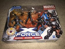 Marvel Universe - X-Force Deadpool Wolverine Warpath - Sealed
