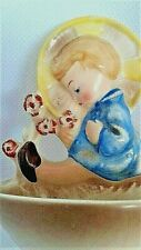 """Goebel's """"Child with Flowers"""" Holy Water Font"""
